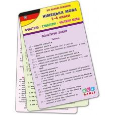 Усі базові правила - Німецька мова. 1-4 класи