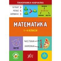 Панорамка-навчалка — Математика. 1-4 класи